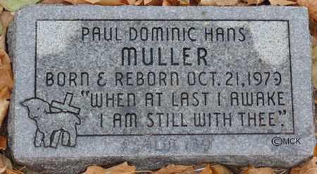 MULLER, PAUL DOMINIC HANS - Minnehaha County, South Dakota | PAUL DOMINIC HANS MULLER - South Dakota Gravestone Photos