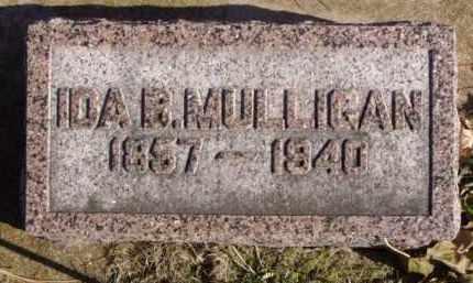 MULLIGAN, IDA B. - Minnehaha County, South Dakota | IDA B. MULLIGAN - South Dakota Gravestone Photos
