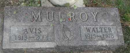 MULROY, AVIS - Minnehaha County, South Dakota | AVIS MULROY - South Dakota Gravestone Photos