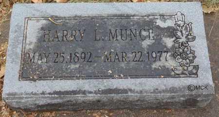 MUNCE, HARRY L. - Minnehaha County, South Dakota | HARRY L. MUNCE - South Dakota Gravestone Photos