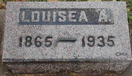 MUNCE, LOUISEA A. - Minnehaha County, South Dakota | LOUISEA A. MUNCE - South Dakota Gravestone Photos