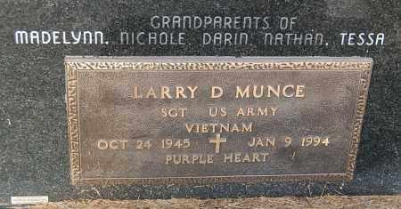 MUNCE, LARRY D. (MILITARY) - Minnehaha County, South Dakota | LARRY D. (MILITARY) MUNCE - South Dakota Gravestone Photos
