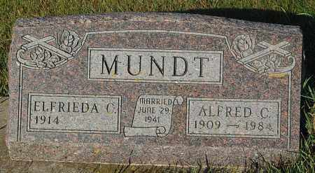 MUNDT, ELFRIEDA C. - Minnehaha County, South Dakota | ELFRIEDA C. MUNDT - South Dakota Gravestone Photos