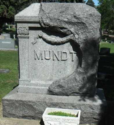 MUNDT, FAMILY STONE - Minnehaha County, South Dakota | FAMILY STONE MUNDT - South Dakota Gravestone Photos