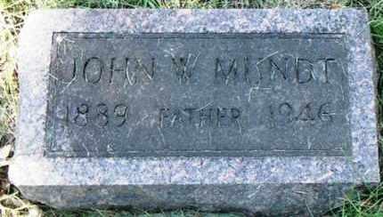 MUNDT, JOHN WHITNEY - Minnehaha County, South Dakota | JOHN WHITNEY MUNDT - South Dakota Gravestone Photos