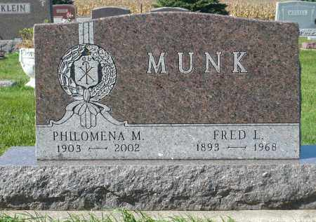 MUNK, PHILOMENA M. - Minnehaha County, South Dakota | PHILOMENA M. MUNK - South Dakota Gravestone Photos