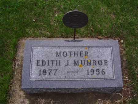 MUNROE, EDITH JENNIES - Minnehaha County, South Dakota | EDITH JENNIES MUNROE - South Dakota Gravestone Photos