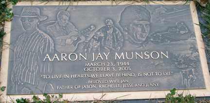 MUNSON, AARON JAY - Minnehaha County, South Dakota   AARON JAY MUNSON - South Dakota Gravestone Photos