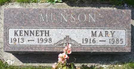 MUNSON, MARY - Minnehaha County, South Dakota | MARY MUNSON - South Dakota Gravestone Photos