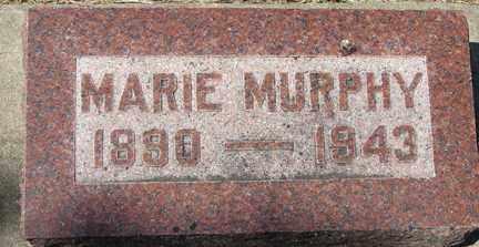 MURPHY, MARIE - Minnehaha County, South Dakota   MARIE MURPHY - South Dakota Gravestone Photos