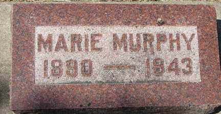 MURPHY, MARIE - Minnehaha County, South Dakota | MARIE MURPHY - South Dakota Gravestone Photos