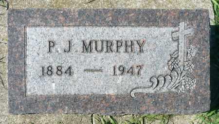 MURPHY, PETER J. - Minnehaha County, South Dakota | PETER J. MURPHY - South Dakota Gravestone Photos