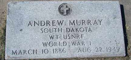 MURRAY, ANDREW (WWI) - Minnehaha County, South Dakota | ANDREW (WWI) MURRAY - South Dakota Gravestone Photos