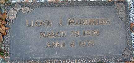 MUSHRUSH, LLOYD J. - Minnehaha County, South Dakota | LLOYD J. MUSHRUSH - South Dakota Gravestone Photos