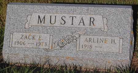 MUSTAR, ZACK E. - Minnehaha County, South Dakota | ZACK E. MUSTAR - South Dakota Gravestone Photos