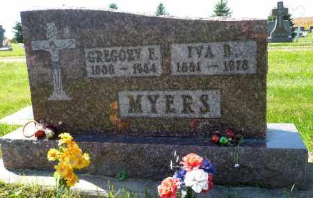 MYERS, IVA B. - Minnehaha County, South Dakota | IVA B. MYERS - South Dakota Gravestone Photos