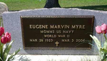 MYRE, EUGENE MARVIN - Minnehaha County, South Dakota | EUGENE MARVIN MYRE - South Dakota Gravestone Photos