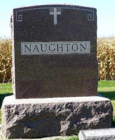 NAUGHTON, FAMILY MARKER - Minnehaha County, South Dakota | FAMILY MARKER NAUGHTON - South Dakota Gravestone Photos