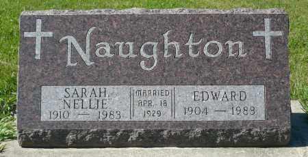 NAUGHTON, SARAH NELLIE - Minnehaha County, South Dakota | SARAH NELLIE NAUGHTON - South Dakota Gravestone Photos
