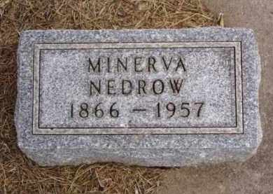NEDROW, MINERVA - Minnehaha County, South Dakota | MINERVA NEDROW - South Dakota Gravestone Photos