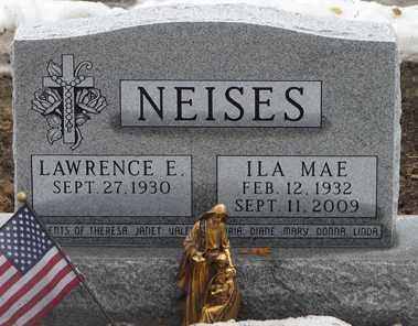 NEISES, ILA  MAE - Minnehaha County, South Dakota | ILA  MAE NEISES - South Dakota Gravestone Photos