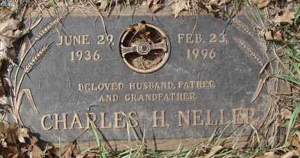 NELLER, CHARLES H. - Minnehaha County, South Dakota | CHARLES H. NELLER - South Dakota Gravestone Photos