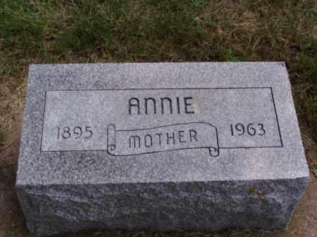 NELSEN, ANNIE - Minnehaha County, South Dakota | ANNIE NELSEN - South Dakota Gravestone Photos