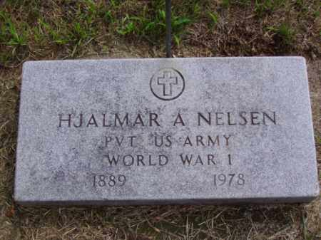 NELSEN, HJALMAR A. - Minnehaha County, South Dakota | HJALMAR A. NELSEN - South Dakota Gravestone Photos