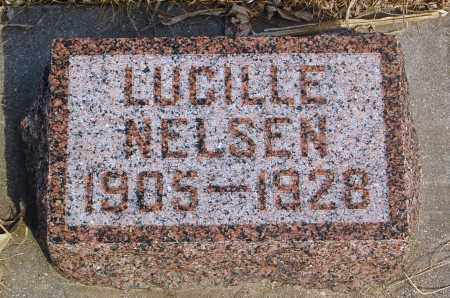 NELSEN, LUCILLE - Minnehaha County, South Dakota | LUCILLE NELSEN - South Dakota Gravestone Photos