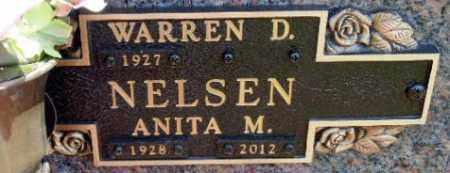 NELSEN, WARREN D. - Minnehaha County, South Dakota | WARREN D. NELSEN - South Dakota Gravestone Photos