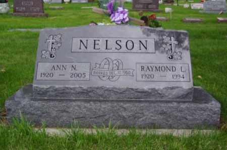 NELSON, RAYMOND L. - Minnehaha County, South Dakota | RAYMOND L. NELSON - South Dakota Gravestone Photos