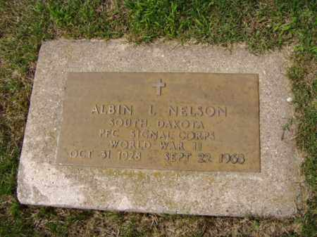 NELSON, ALBIN L. - Minnehaha County, South Dakota | ALBIN L. NELSON - South Dakota Gravestone Photos