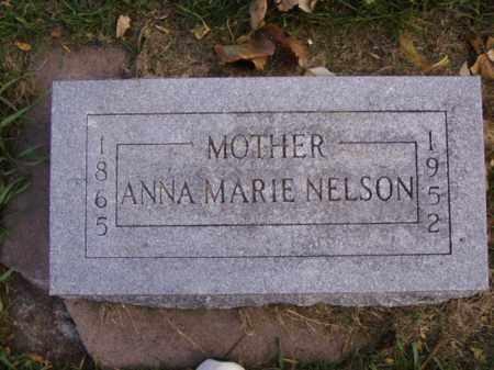 NELSON, ANNA MARIE - Minnehaha County, South Dakota   ANNA MARIE NELSON - South Dakota Gravestone Photos