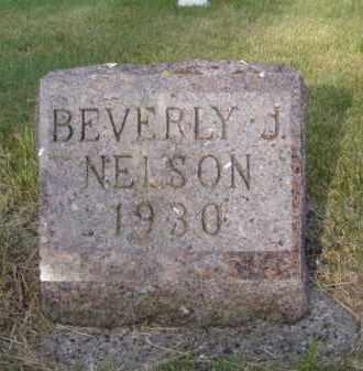NELSON, BEVERLY J. - Minnehaha County, South Dakota | BEVERLY J. NELSON - South Dakota Gravestone Photos