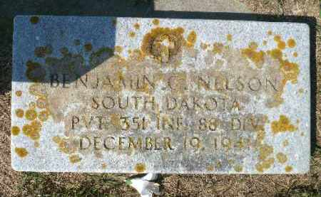 NELSON, BENJAMIN C. (MILITARY) - Minnehaha County, South Dakota   BENJAMIN C. (MILITARY) NELSON - South Dakota Gravestone Photos
