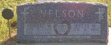 NELSON, BETTY M. - Minnehaha County, South Dakota | BETTY M. NELSON - South Dakota Gravestone Photos