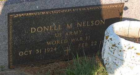 NELSON, DONELL M. (WW II) - Minnehaha County, South Dakota | DONELL M. (WW II) NELSON - South Dakota Gravestone Photos