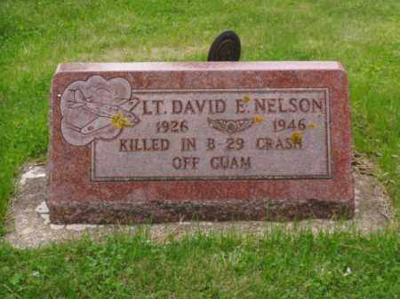 NELSON, DAVID E. - Minnehaha County, South Dakota | DAVID E. NELSON - South Dakota Gravestone Photos
