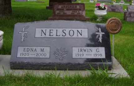 FINCH NELSON, EDNA M. - Minnehaha County, South Dakota | EDNA M. FINCH NELSON - South Dakota Gravestone Photos