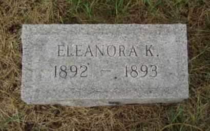 NELSON, ELEANORA K. - Minnehaha County, South Dakota   ELEANORA K. NELSON - South Dakota Gravestone Photos