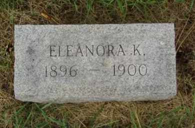 NELSON, ELEANORA K. - Minnehaha County, South Dakota | ELEANORA K. NELSON - South Dakota Gravestone Photos