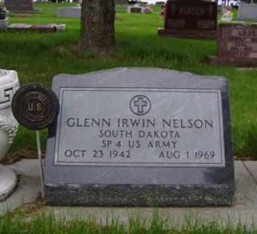 NELSON, GLENN IRWIN - Minnehaha County, South Dakota | GLENN IRWIN NELSON - South Dakota Gravestone Photos