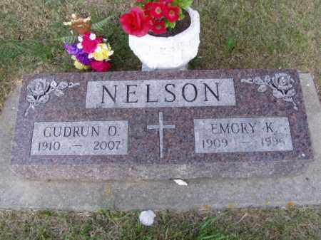 NELSON, EMORY KENNETH - Minnehaha County, South Dakota | EMORY KENNETH NELSON - South Dakota Gravestone Photos