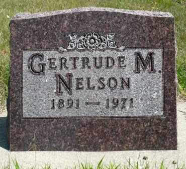 NELSON, GERTRUDE M. - Minnehaha County, South Dakota | GERTRUDE M. NELSON - South Dakota Gravestone Photos