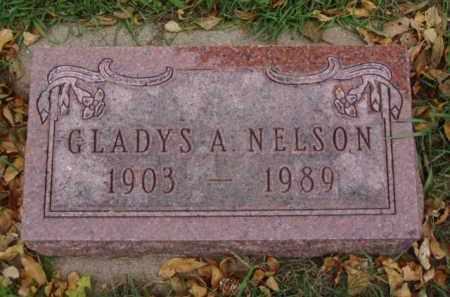 NELSON, GLADYS A. - Minnehaha County, South Dakota | GLADYS A. NELSON - South Dakota Gravestone Photos