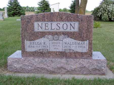 NELSON, HELGA KATINKA - Minnehaha County, South Dakota | HELGA KATINKA NELSON - South Dakota Gravestone Photos