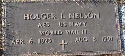 NELSON, HOLGER L. (WWII) - Minnehaha County, South Dakota   HOLGER L. (WWII) NELSON - South Dakota Gravestone Photos