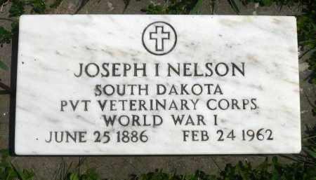 NELSON, JOSEPH I. (WWI) - Minnehaha County, South Dakota   JOSEPH I. (WWI) NELSON - South Dakota Gravestone Photos