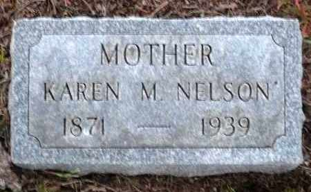 ANDERSON NELSON, KAREN M. - Minnehaha County, South Dakota | KAREN M. ANDERSON NELSON - South Dakota Gravestone Photos