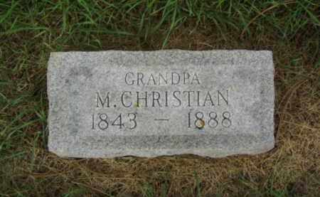 NELSON, M. CHRISTIAN - Minnehaha County, South Dakota | M. CHRISTIAN NELSON - South Dakota Gravestone Photos